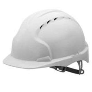 White Protective Hard Hat