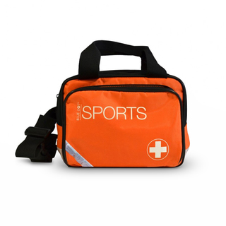 Essential Sports Kit in Small Orange Sports Bag