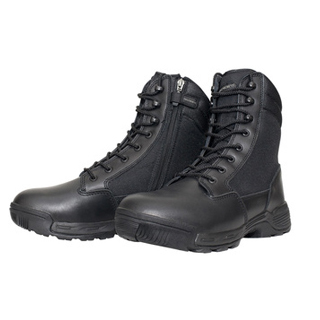 "Tracerlite 8"" Leather/Cordura Boots - Side Zip"