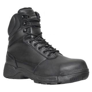 "Tracerlite 8"" Full Leather Composite Safety Toe Boot - Side Zip - Size 14"