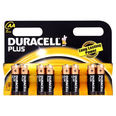 Duracell Plus Alkaline Battery - AA - MN1500 - Pack/Card of 8