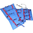 RedVac EMS Vacuum Splint Set - 3 Splints, Carry Bag & Pump