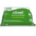 Clinell Universal Disinfectant Wipes - 200x200mm - 50 Wipes Pack