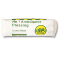 No 1 Ambulance Dressing SINGLE