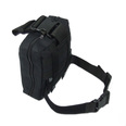 SP Battle Medical Leg Pack in Black - Empty