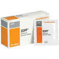 Zoff Adhesive Remover Wipes - Box of 20 Wipes