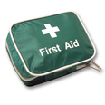 First Aid Belt Pouch - Green - Printed