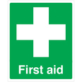 First Aid Signs 200mm x 150mm