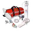 SP Resus Kit in Red Barrel Bag - KIT A