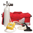 Sabre Mars II Resuscitator - Adult/Child with Oxygen Cylinder