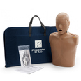 Prestan Child Manikin with CPR Rate Monitor - Inc 10 Lung Bags - Dark Skin