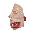 Bleeding Moulage - Jaw Wound (MANIKIN USE ONLY)