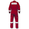 Ambulance Coverall - Red - Medium