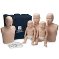 Prestan Manikin Family Pack - 2 Adult, 2 Infant, 1 Child