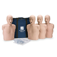 Prestan Adult Manikin with CPR LED Monitor - Pack of 4 - Medium Skin