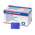Coverplast Blue Detectable Catering Plasters - 7.2 x 5cm - Box of 100