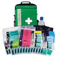 Site Evacuation Kit in Green Rucksack
