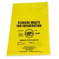 Clinical Waste Bag - Yellow - Single