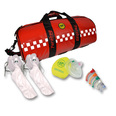 SP Resus Kit in Red Barrell Bag - KIT D