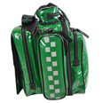 SP Parabag Tardis Defib Carry Bag Green - TPU Fabric