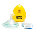 Laerdal Pocket CPR Mask in Yellow Hard Case