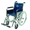 Wheelchair with Folding Back - Self Propelled Type