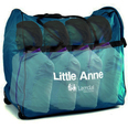 Little Anne QCPR - Dark Skin - Quad Pack