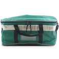 Green Wipeable PVC Carry Bag