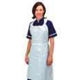 White Disposable Plastic Aprons - Pack of 500