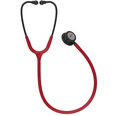 3M Littmann Classic III Stethoscope - Black Finish, Burgundy Tubing