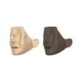 Manikin Faces For Resusci & Little Anne - Pack Of 6