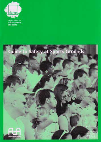 Guide to safety at sports grounds from pro life guards.