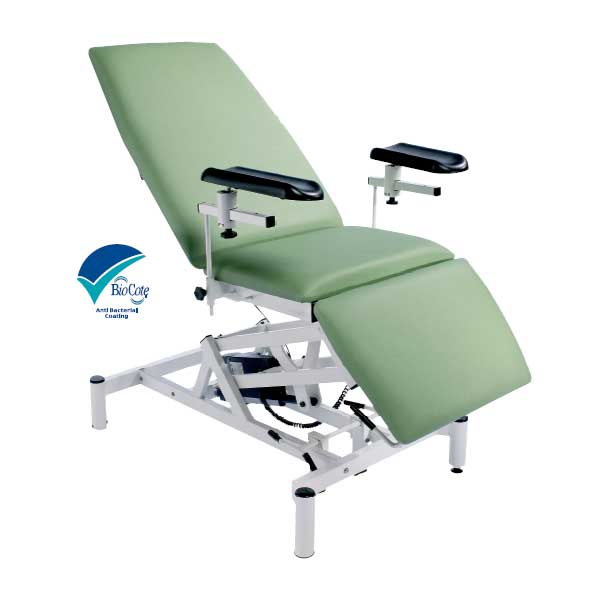 Doherty Adjustable Electric Patient Treatment ChairCouch – Treatment Chair